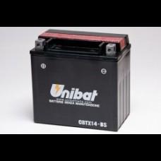 CBTX14-BS (echiv. YTX14-BS) Baterie Unibat, fara intretinere